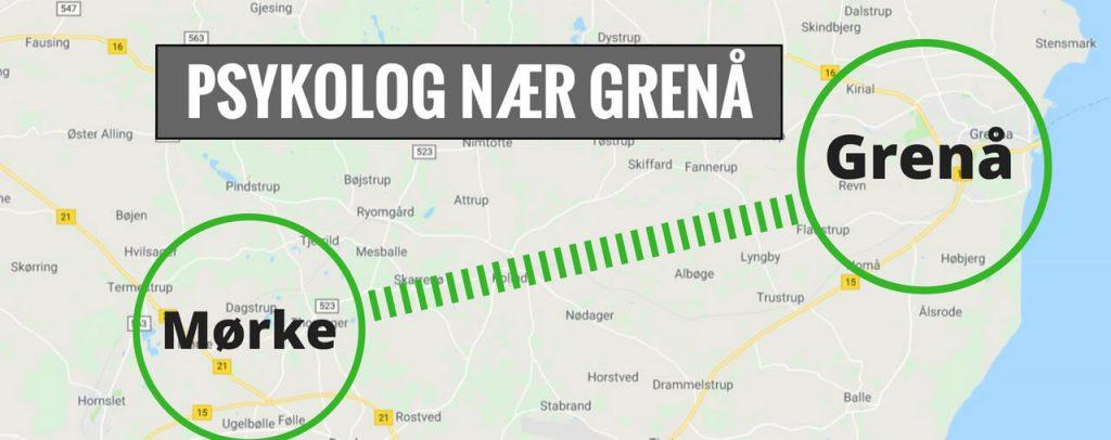 Psykolog Grenå · Norddjurs · Djursland - lokal psykolog i Mørke