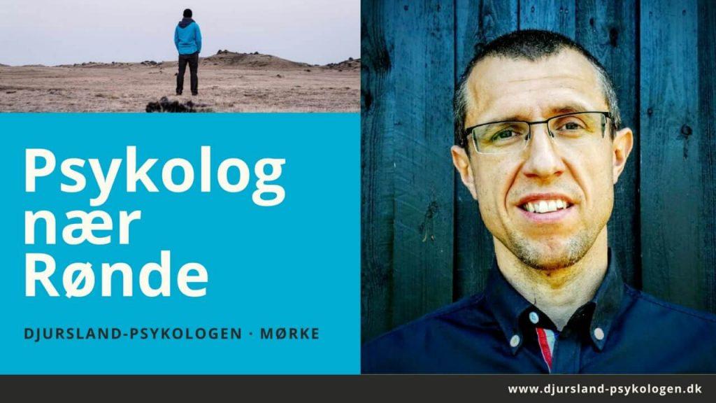 Psykolog Rønde og Djursland - lokal psykolog nær Rønde