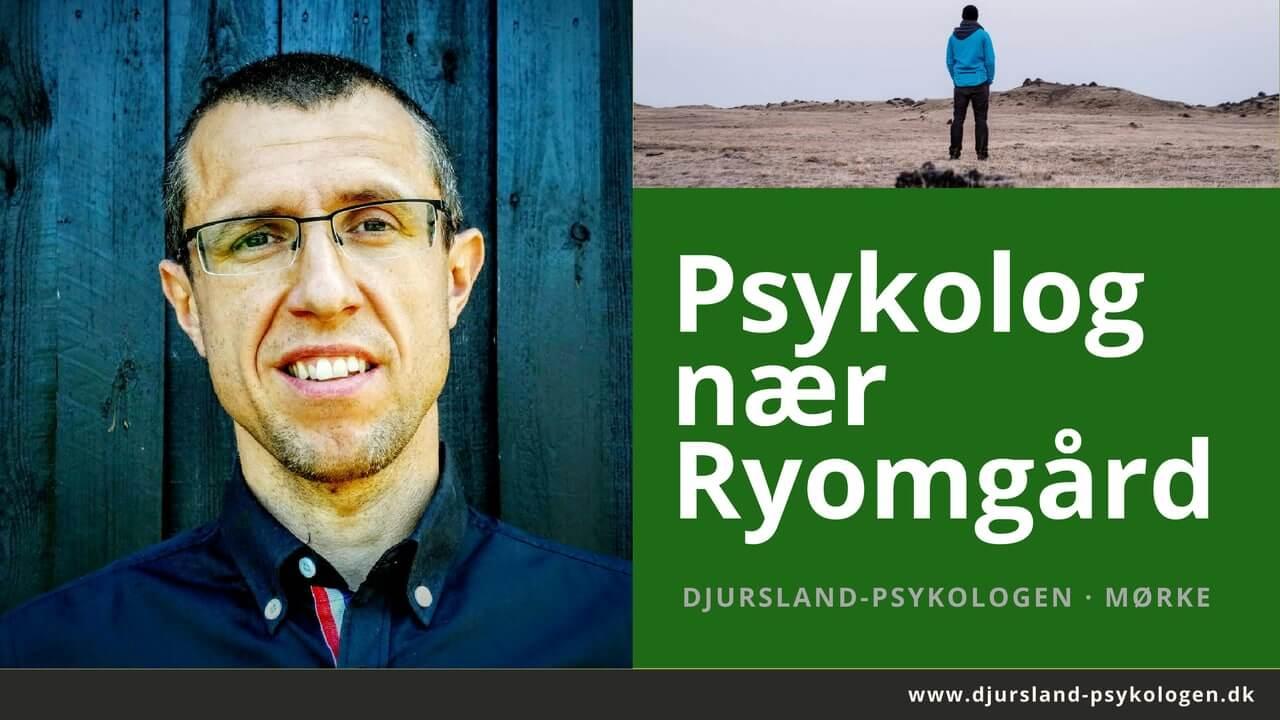 Psykolog Ryomgård - psykolog mellem Ryomgård, Hornslet og Rønde. Tæt på Kolind og Pindstrup.
