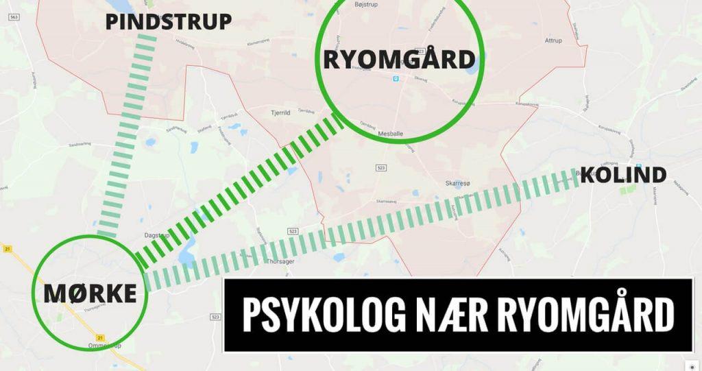 Psykolog Ryomgård · Pindstrup · Kolind - uden ventetid. Psykolog-hjælp til kriser, stress, angst og depression.