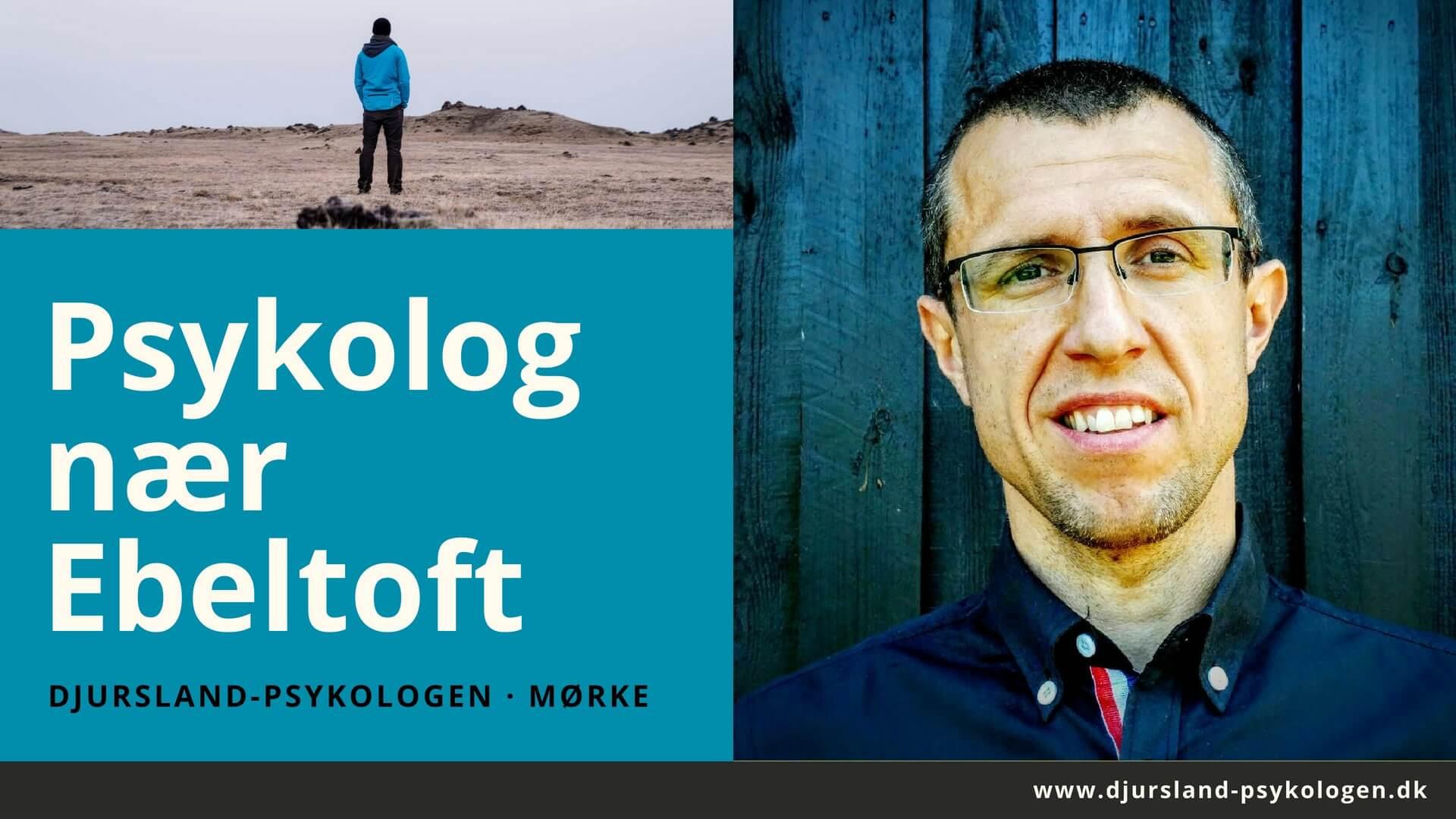 Venlig psykolog nær Ebeltoft - uden ventetid. Tlf. 89 88 44 45. Psykolog-hjælp til stress, angst, depression og kriser.