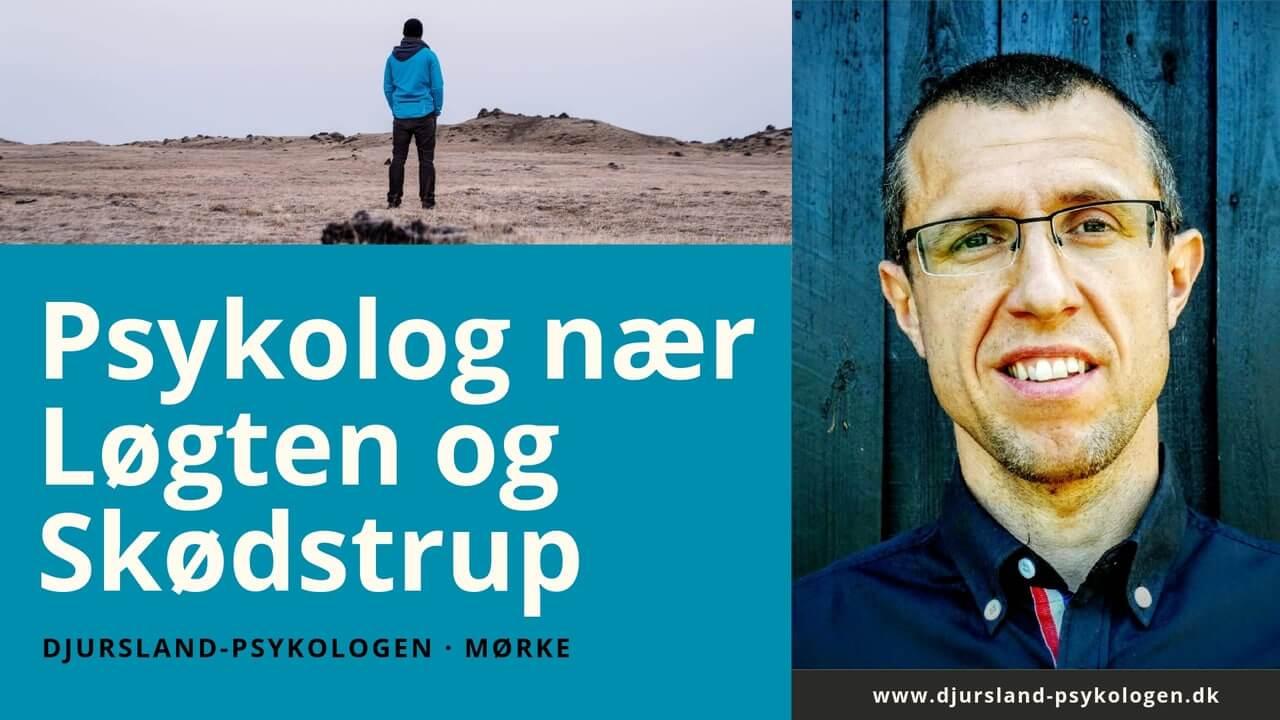 Lokal psykolog nær Skødstrup og Løgten - erfaren psykolog på Djursland